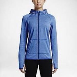 Nike Blue Long Sleeve Therma-Fit Sweater sz S